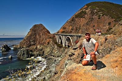 Photograph - Adam Jewell At Big Sur by Adam Jewell