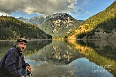 Photograph - Adam Jewell At Diablo Lake by Adam Jewell
