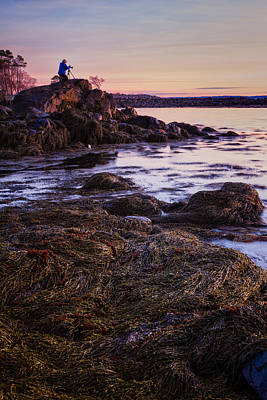 Photograph - Adam On The Rocks by Jeff Sinon