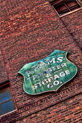 Photograph - Adams Building by Sennie Pierson