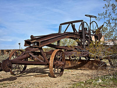 Adams Leaning Wheel Grader Number 8 Art Print