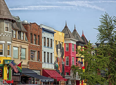 Mural Photograph - Adams Morgan Neighborhood In Washington D.c. by Mountain Dreams