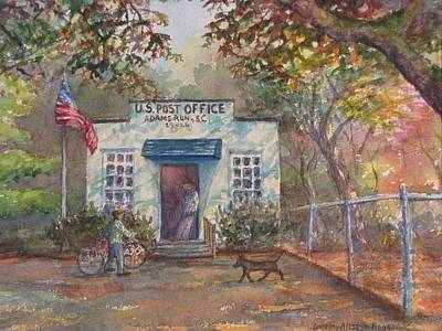 Painting - Adams Run Post Office by Dorothy Allston Rogers