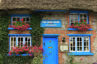 Multihued Photograph - Adare County Limerick Ireland Store by Tom Norring