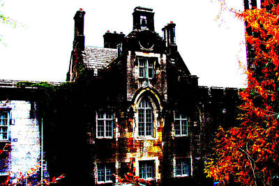 Art Print featuring the photograph Adare Manor by Charlie and Norma Brock