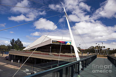 Modern Kitchen - Adelaide Festival Bridge and Festival Center by Jason O Watson