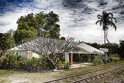 Adelaide River Railway Station Art Print by Douglas Barnard