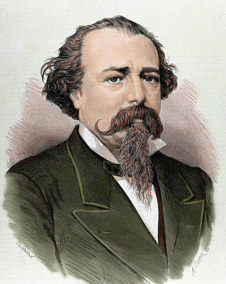 Adelardo Lopez De Ayala (1828-1879 Art Print by Prisma Archivo