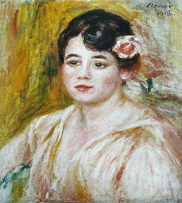 Adele Painting - Adele Besson by Pierre-Auguste Renoir