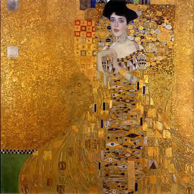 Adele Painting - Adele Bloch-bauer's Portrait by Gustav Klimt