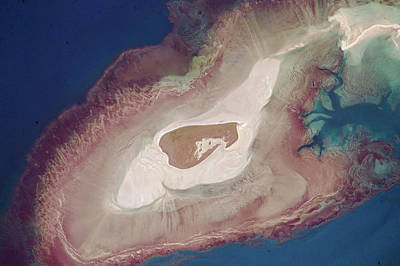 Adele Island Art Print by Nasa