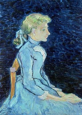 Adeline Ravoux, 1890  Art Print by Vincent van Gogh