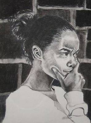 Drawing - Adenike by Phyllis Anne Taylor Pannet Art Studio