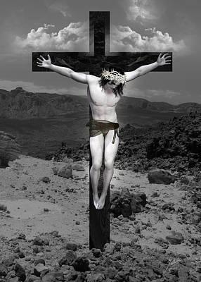 Christ Art Digital Art - Jesus Christ Intact by Quim Abella