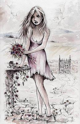 Adieu Mon Amour Original by Rachel Christine Nowicki