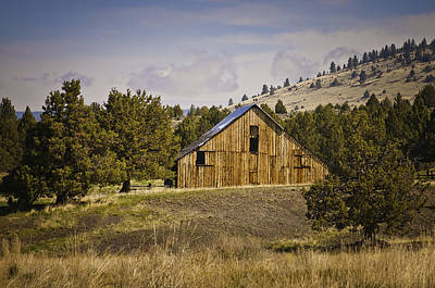 Photograph - Adin Barn 2 by Sherri Meyer