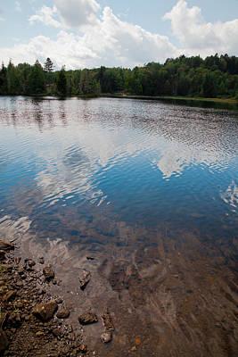 Claude Monet - Adirondack Calm by David Patterson