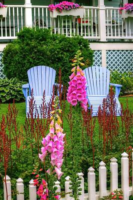 Adirondack Garden Art Print
