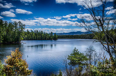Photograph - Adirondack Mountain View by Patricia Trudell