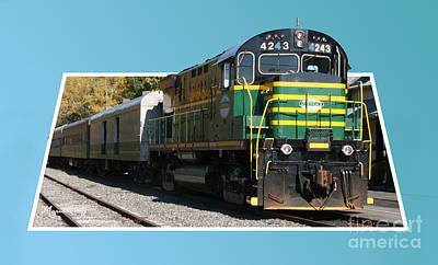 Photograph - Adirondack Railroad by Mariarosa Rockefeller