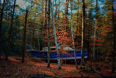 Photograph - Adirondack Sailing by Emily Stauring