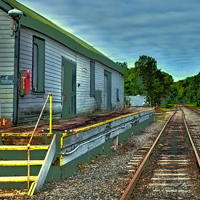 Photograph - Adirondack Scenic Railroad by David Patterson