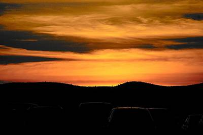 Photograph - Adirondack Sunset Too by John Schneider
