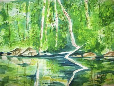 Adirondack Zen Art Print