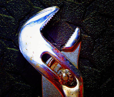Photograph - Adjustable Wrench H by Laurie Tsemak