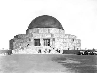 Adler Wall Art - Photograph - Adler Planetarium by Underwood Archives