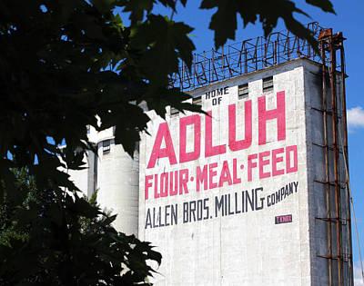 Photograph - Adluh Flour Framed by Joseph C Hinson Photography