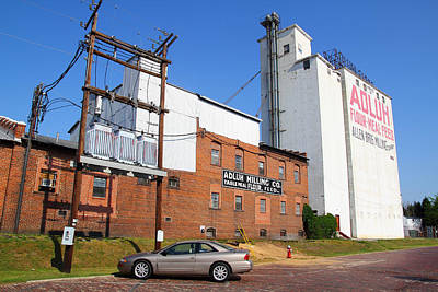 Photograph - Adluh Milling Co. 2 by Joseph C Hinson Photography