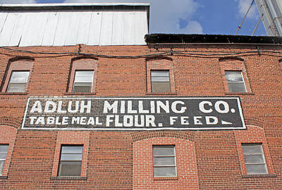 Photograph - Adluh Milling Co. Table Meal Flour by Joseph C Hinson Photography