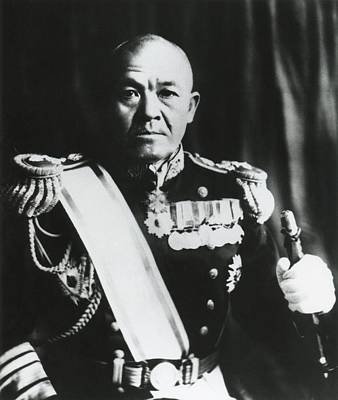 Ww 2 Photograph - Admiral Chuichi Nagumo, Of The Japanese by Everett