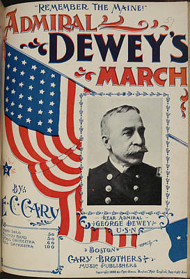 Famous Book Photograph - Admiral Dewey's March by British Library