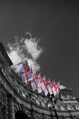 St George Photograph - Admiralty Arch London by Mark Rogan