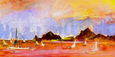 Admiralty Bay Bequia 01 Art Print by Miki De Goodaboom