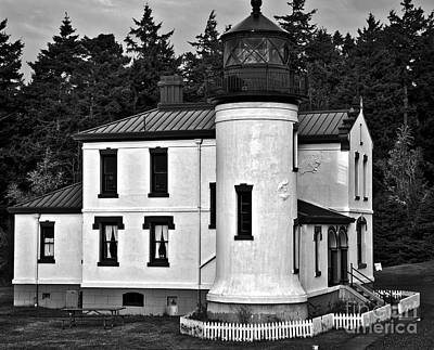 Photograph - Admiralty Head Lighthouse by Kirt Tisdale