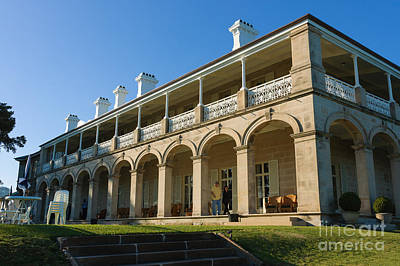 Photograph - Admiralty House - Official Sydney Residence Of The Governor-general Of Australia by David Hill