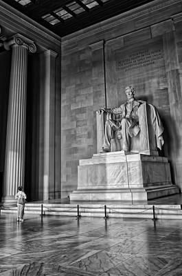 Admiring Lincoln Original by Boyd Alexander