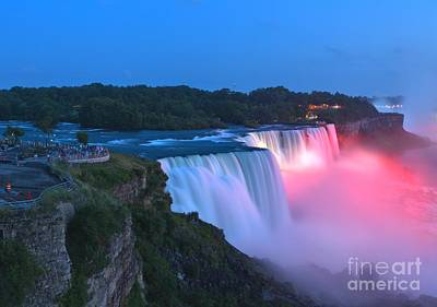 Photograph - Admiring The American Falls by Adam Jewell