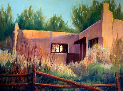 Painting - Adobe Abode by Mary Knape