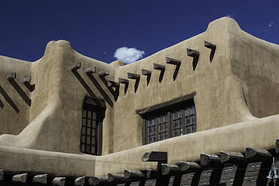 Photograph - Adobe Architecture 01 by Gene Norris