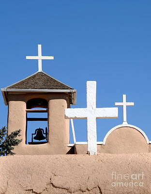 Photograph - Adobe Crosses by Heidi Hermes