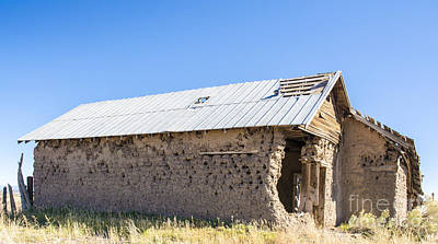 Photograph - Adobe House 1 by Tim Mulina