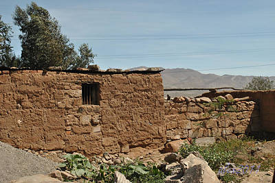 Photograph - Adobe House by Lew Davis