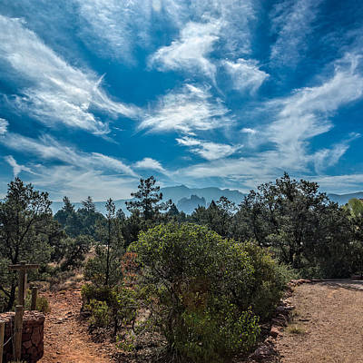 Photograph - Adobe Jack Trail by Chris Bordeleau