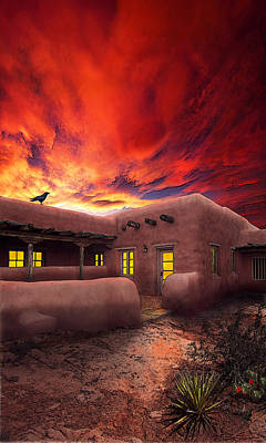 Photograph - Adobe Sunset by Ric Soulen