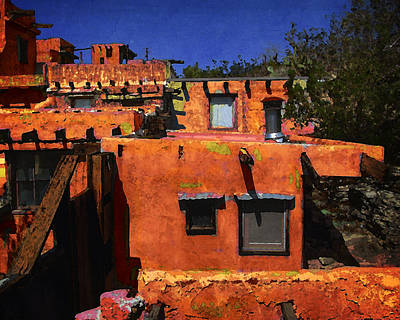 Photograph - Adobe Walls by Timothy Bulone