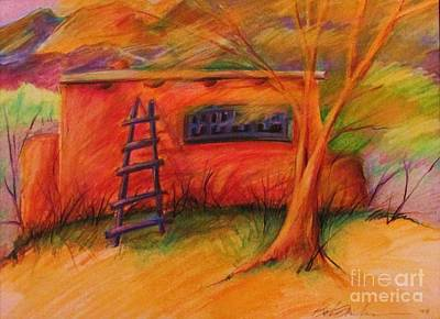 Adobe Warmth Art Print by Beth Fischer